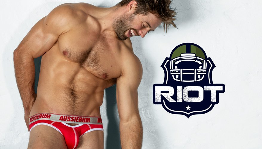Riot Brief Red Lifestyle Image