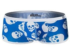 Hipster Skulls Blue