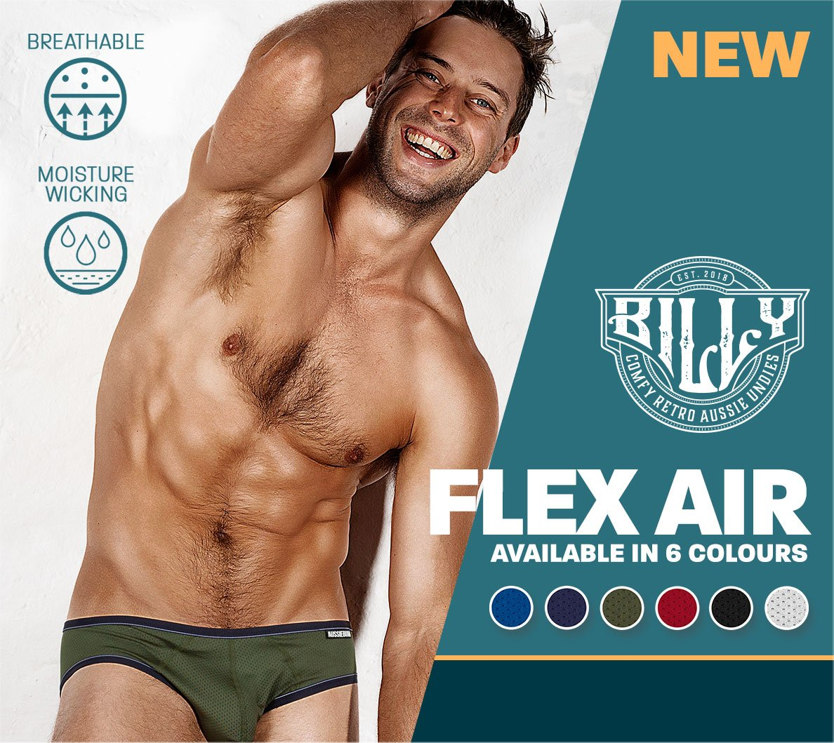 Billy Flex Air Army Homepage Image