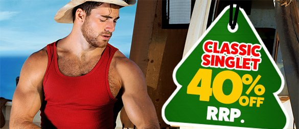 Classic Singlet Red Homepage Image