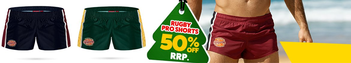 Rugby Pro Short Maroon Homepage Image