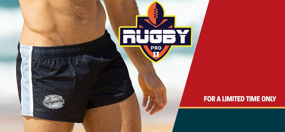 Rugby Pro Short Ocean Homepage Image