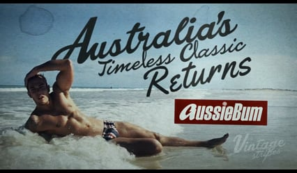 aussieBum brings back the fun, retro look for Summer with the new Vintage Stripes range in our classic swimwear style. We've searched far and wide for the classic looks our Aussie forefathers hit the surf in from the good old days. Relive the past and redefine your future with these sexy, lightweight and quick drying swimmers. They're so durable they're the choice of Aussie Surf Rowers. If you doubt yourself, wear something else!