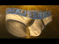 Introducing aB 24K Gold by aussieBum - the world's first men's underwear made from 24K Gold. Proudly made in Sydney, Australia, using a gold yarn developed in Germany and knitted into fabric in Queensland. It was designed by company founder Sean Ashby, and made in Australia using 'ENLARGEIT' technology. Only five pairs will ever be made, and each one will be tailor-made to fit the purchaser. 