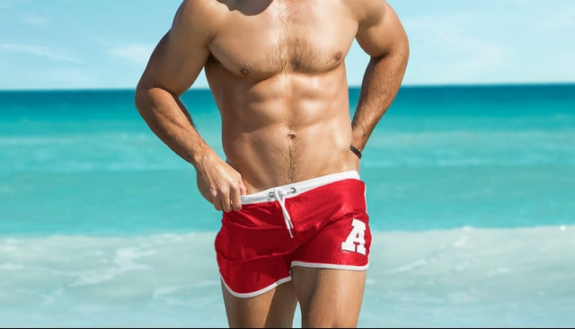 New Stubby shorts by aussieBum. The perfect all-rounder short ideal for swimming, beach and gym. Quick dry composition, full mesh liner, in bold colourfast fabric. Stubby is Swimwear, Sportswear, for Everywhere. 