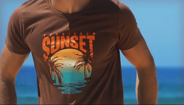 Designer Tee Sunset Video Image