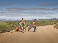 Filmed in the Flinders Ranges