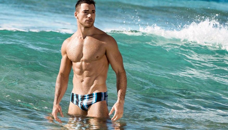 aussieBum brings back the fun, retro look for Summer with the new Vintage Stripes range in our classic swimwear style. We've searched far and wide for the classic looks our Aussie forefathers hit the surf in from the good old days. Relive the past and redefine your future with these sexy, lightweight and quick drying swimmers. They're so durable they're the choice of Aussie Surf Rowers. If you doubt yourself, wear something else! Proudly Australian made