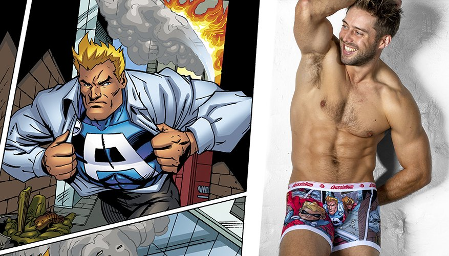 SuperHero L-Leg Superhero