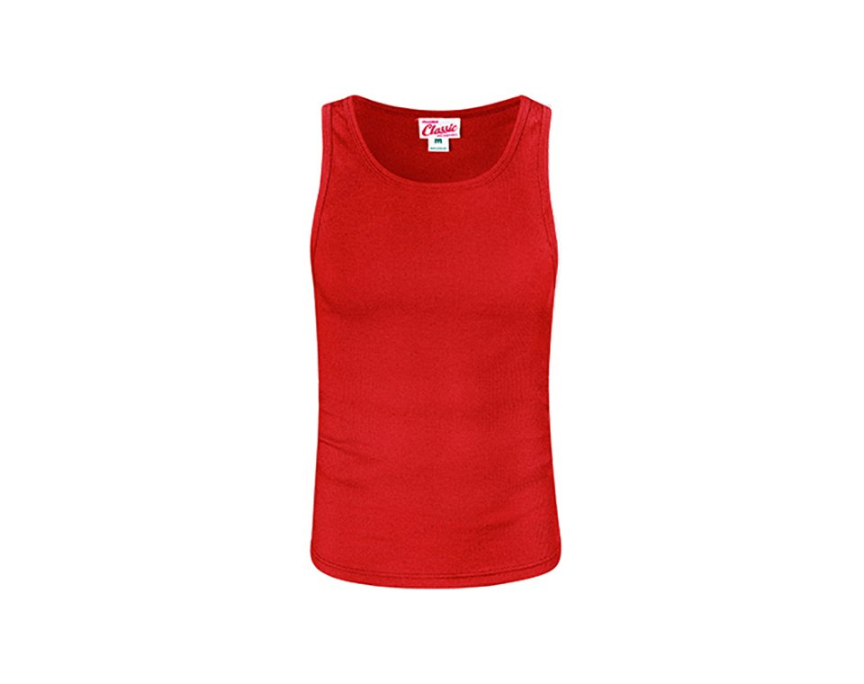 Classic Singlet Red Main Image