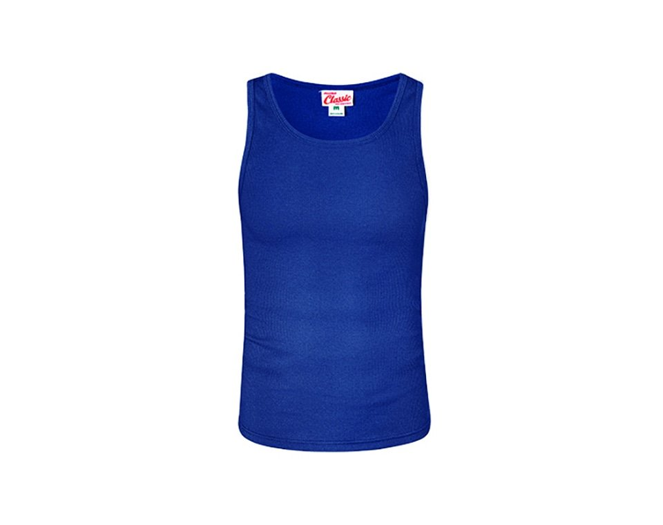 Classic Singlet Royal Blue Main Image