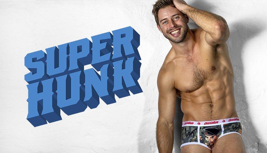 Superhunk Army Man Lifestyle Image