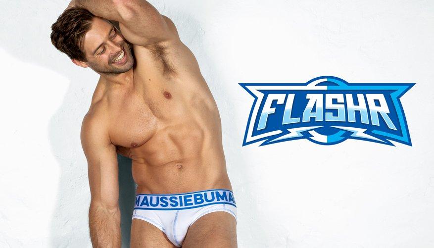 FlashR Blue Lifestyle Image