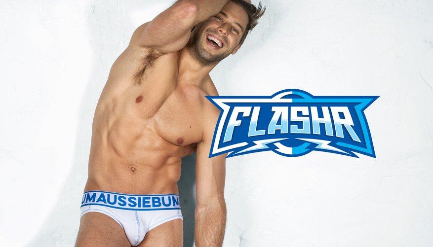 FlashR - Brief - Blue