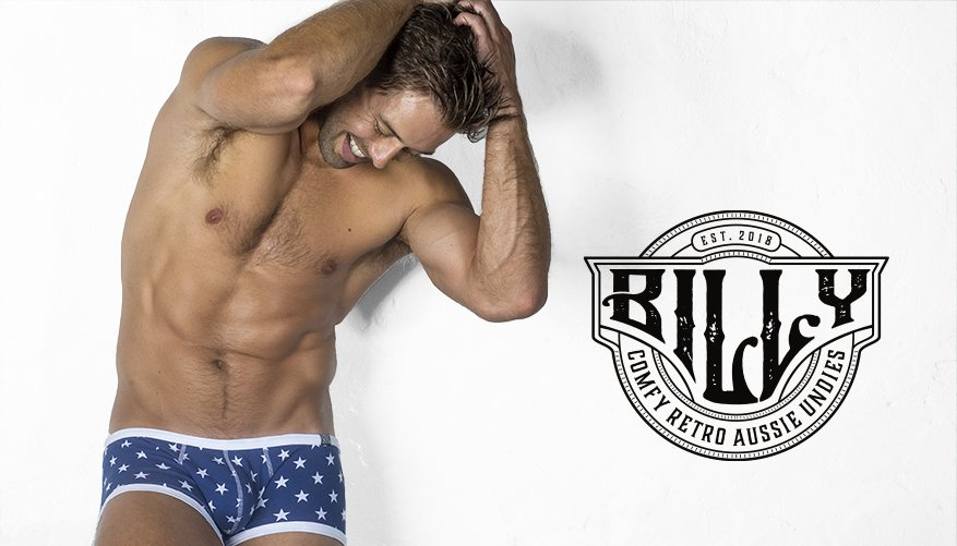 Billy Hipster Blue Stars Lifestyle Image