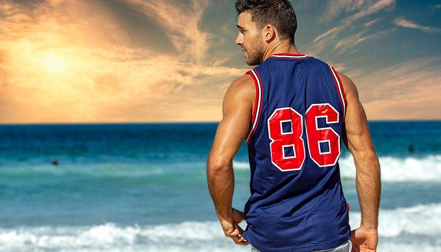 Basketball Jersey Avoca Lifestyle Image