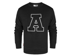 Athletic Sweater Black