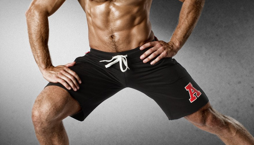 Athletic Gymshort Black