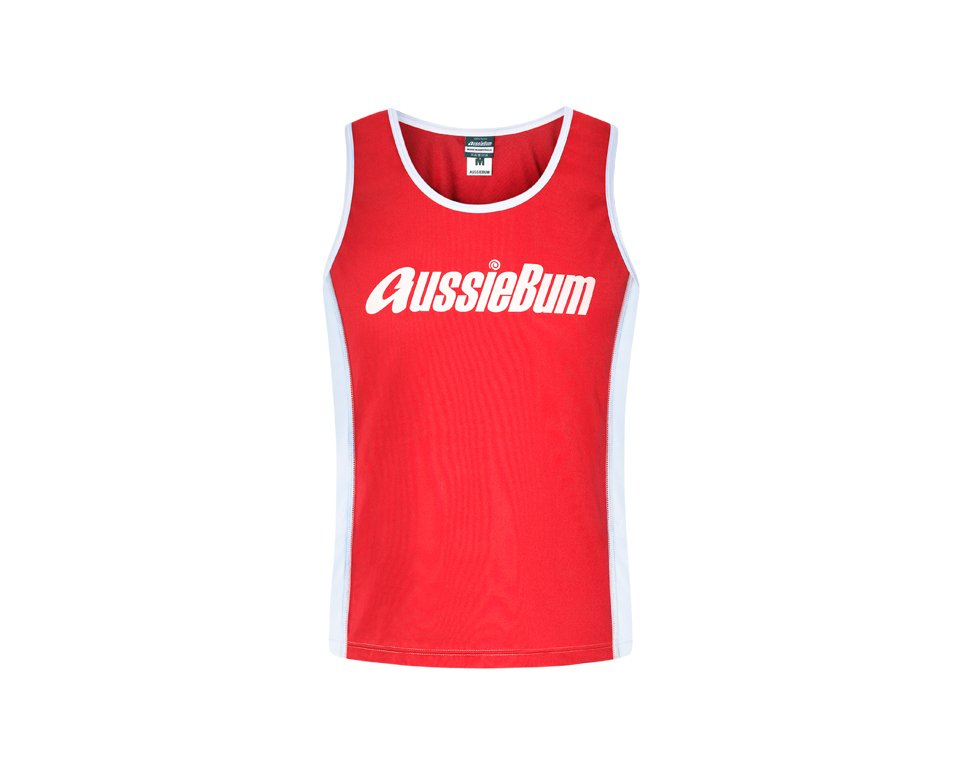Nylon Singlet Red Main Image