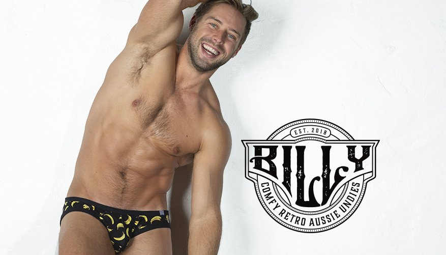 Billy Brief Banana Black