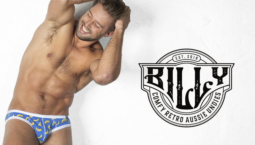 Billy Brief Banana Blue Lifestyle Image