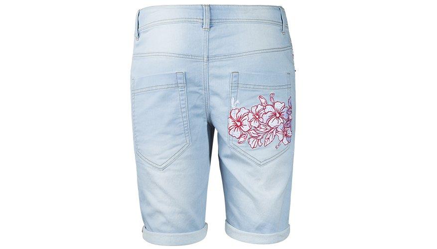 Hibiscus Denim Washed Lifestyle Image