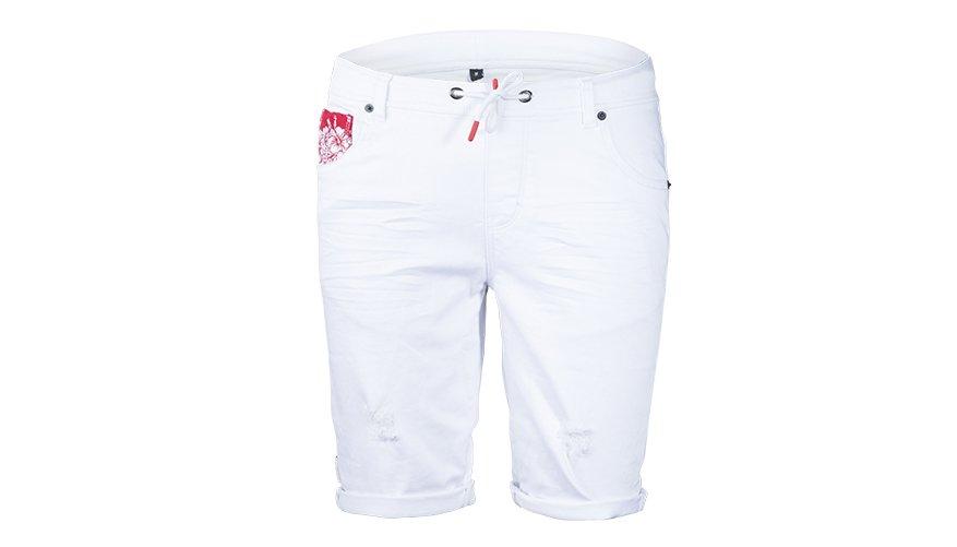 Hibiscus Denim White Lifestyle Image