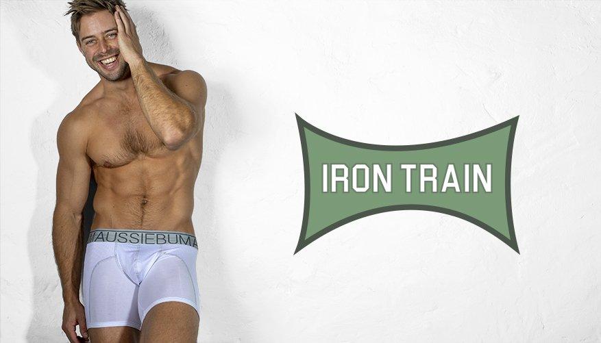 Underwear - Iron Trian White