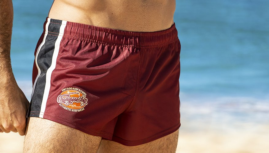 Rugby Pro Short Maroon