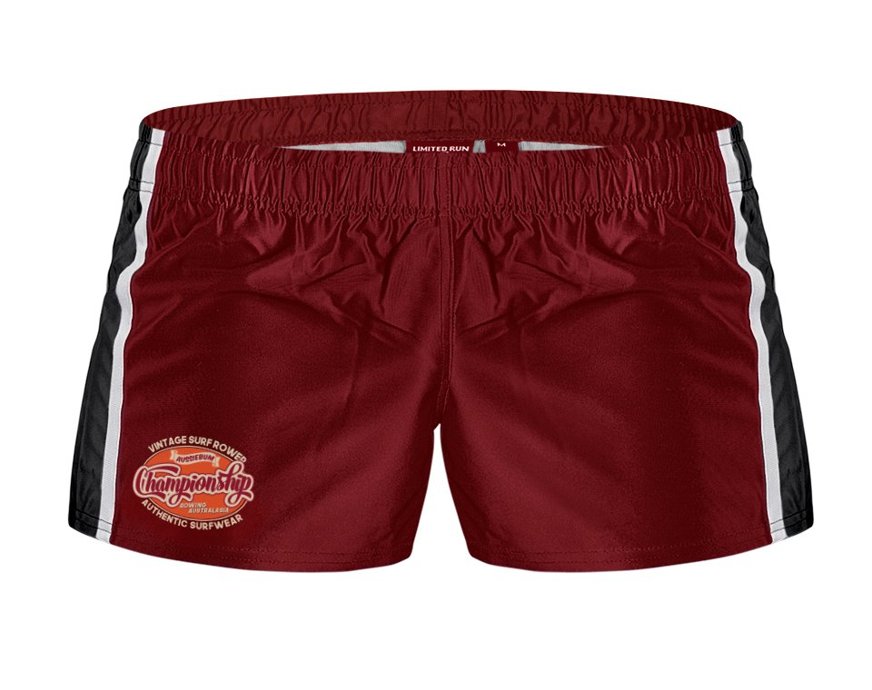 Rugby Pro Short Maroon Main Image
