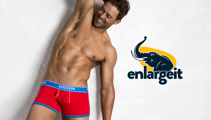 EnlargeIT Bold - Hipster - Red