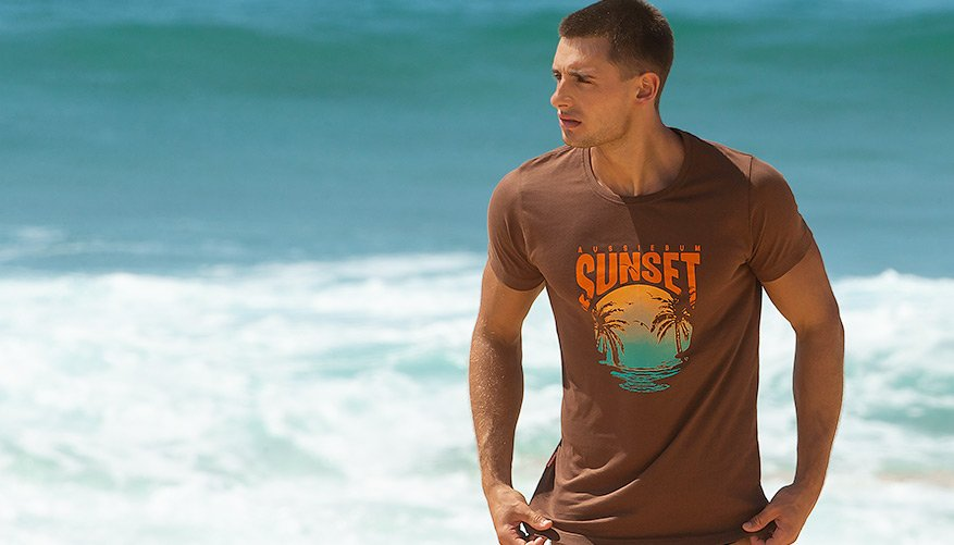 Designer Tee Sunset