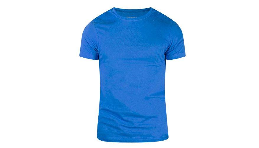 Pima Cotton Round Blue Lifestyle Image
