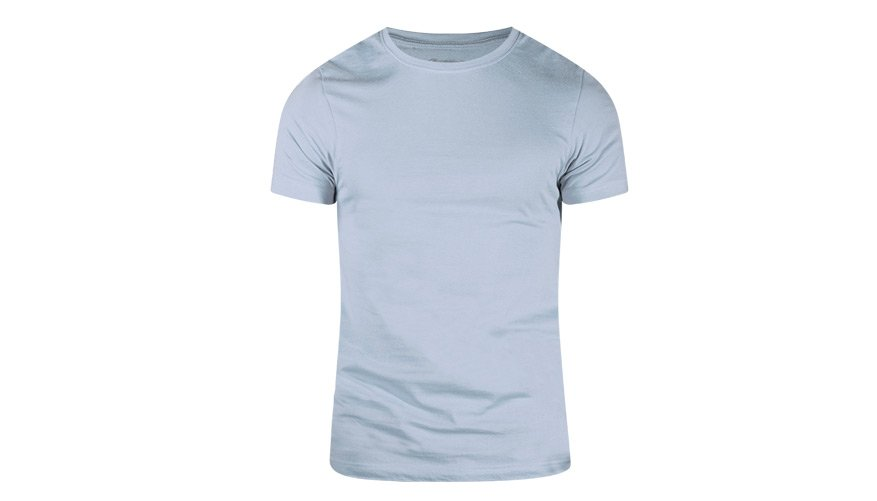 Pima Cotton Round Ice Blue Lifestyle Image