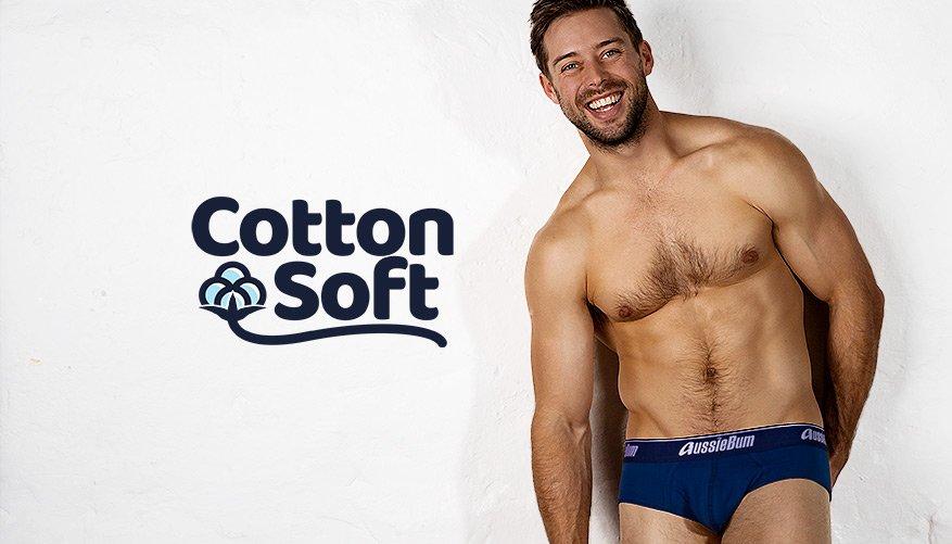 Cotton Soft - Navy Brief-