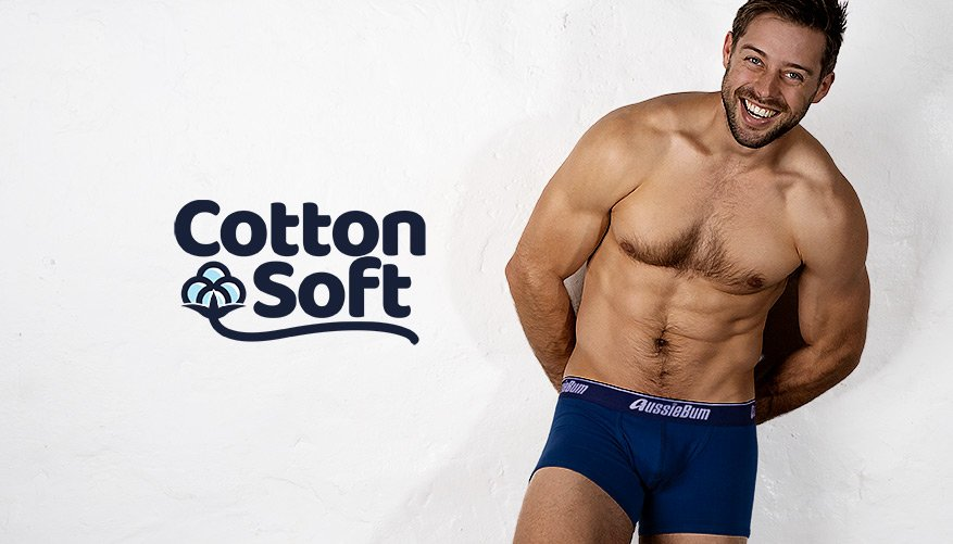 Cotton Soft - Navy Hipster