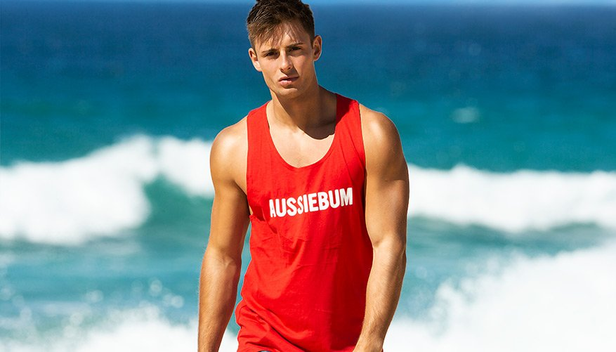 Classic Workout - RED-SINGLET