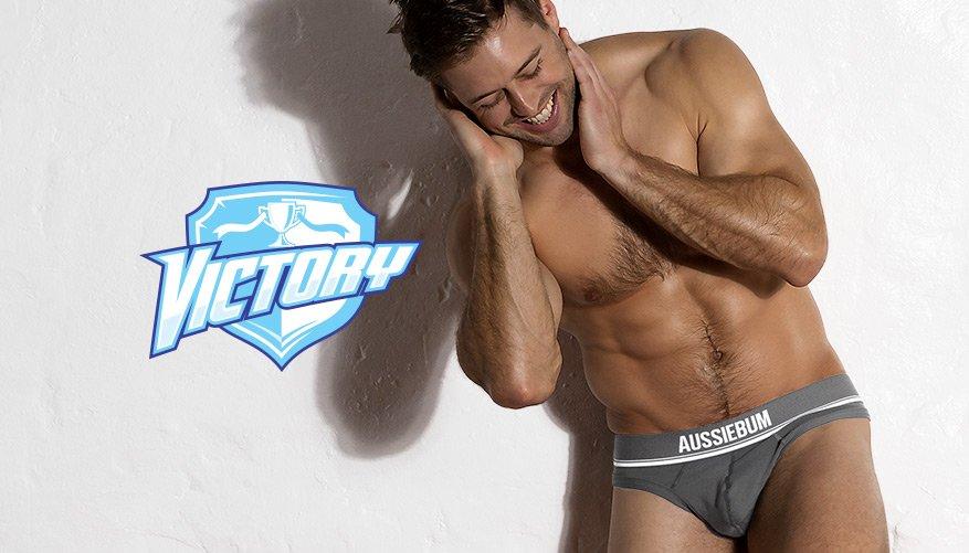 Victory - Thong - Charcoal