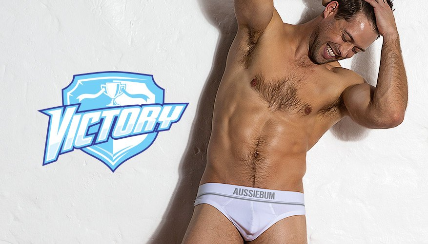 Victory - White - Thong