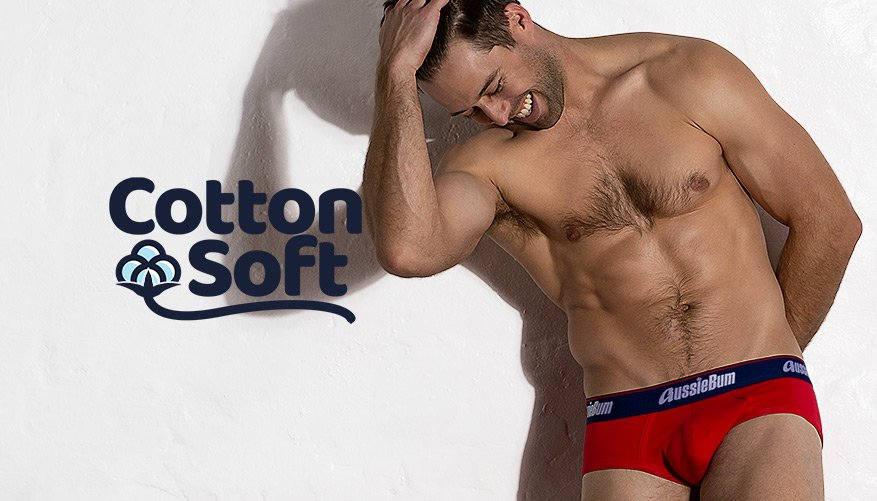 Cotton Soft - Brief - Red Video Image