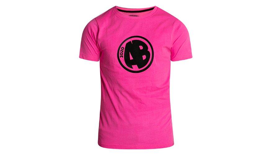 Designer Tee AB Pink Lifestyle Image