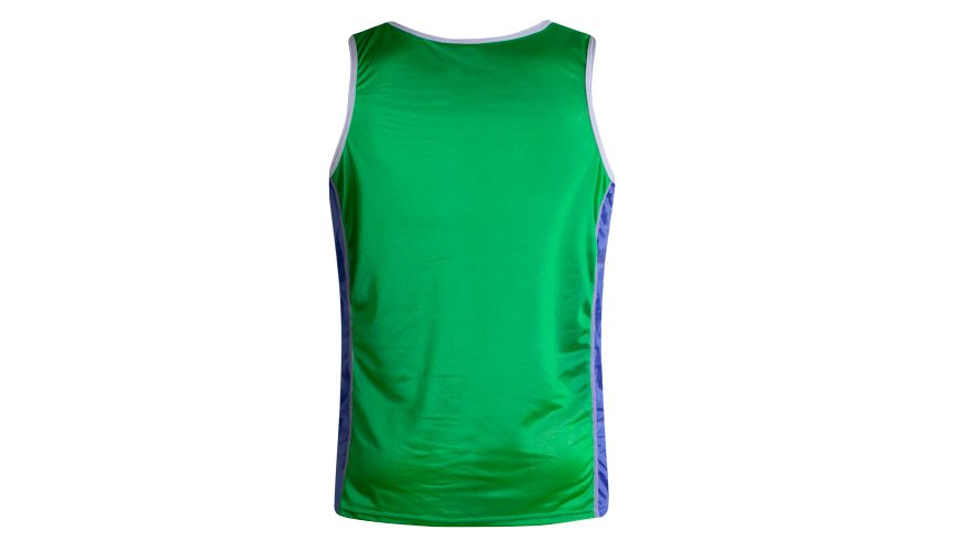 Nylon Singlet Green Lifestyle Image