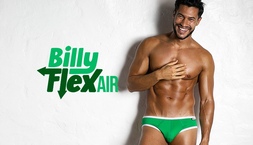 Billy Flex Air Green Lifestyle Image