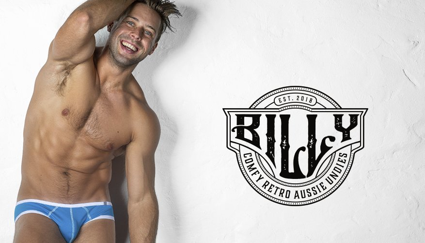 Billy Brief Blue Lifestyle Image