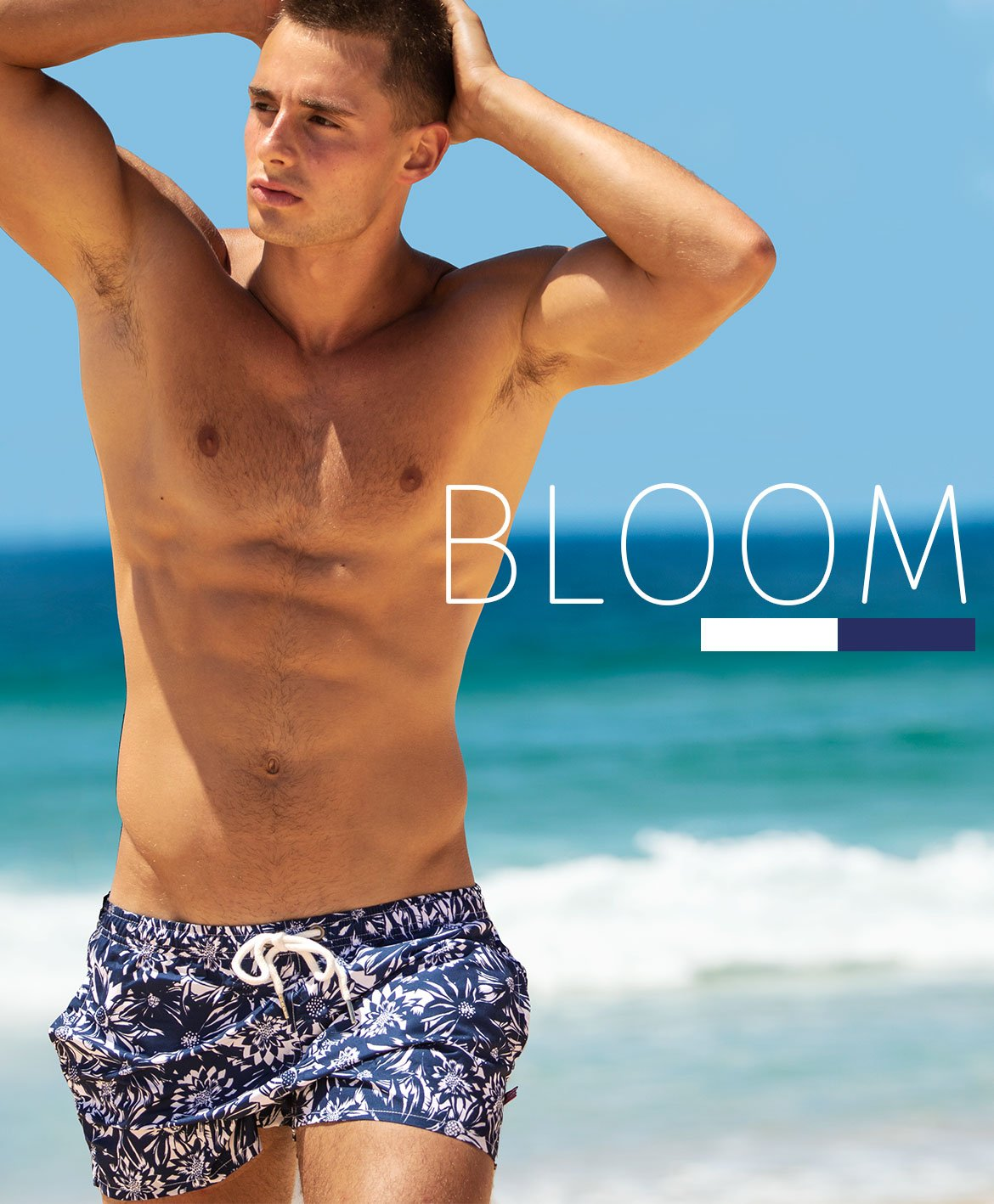 Bloom Navy Homepage Image