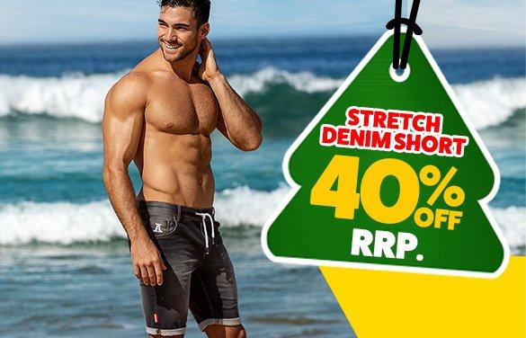 Stretch Denim Short Bells Homepage Image