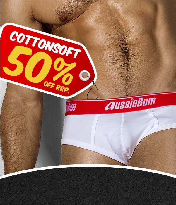 CottonSoft Inferno White Homepage Image
