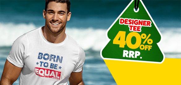Designer Tee Equal Homepage Image
