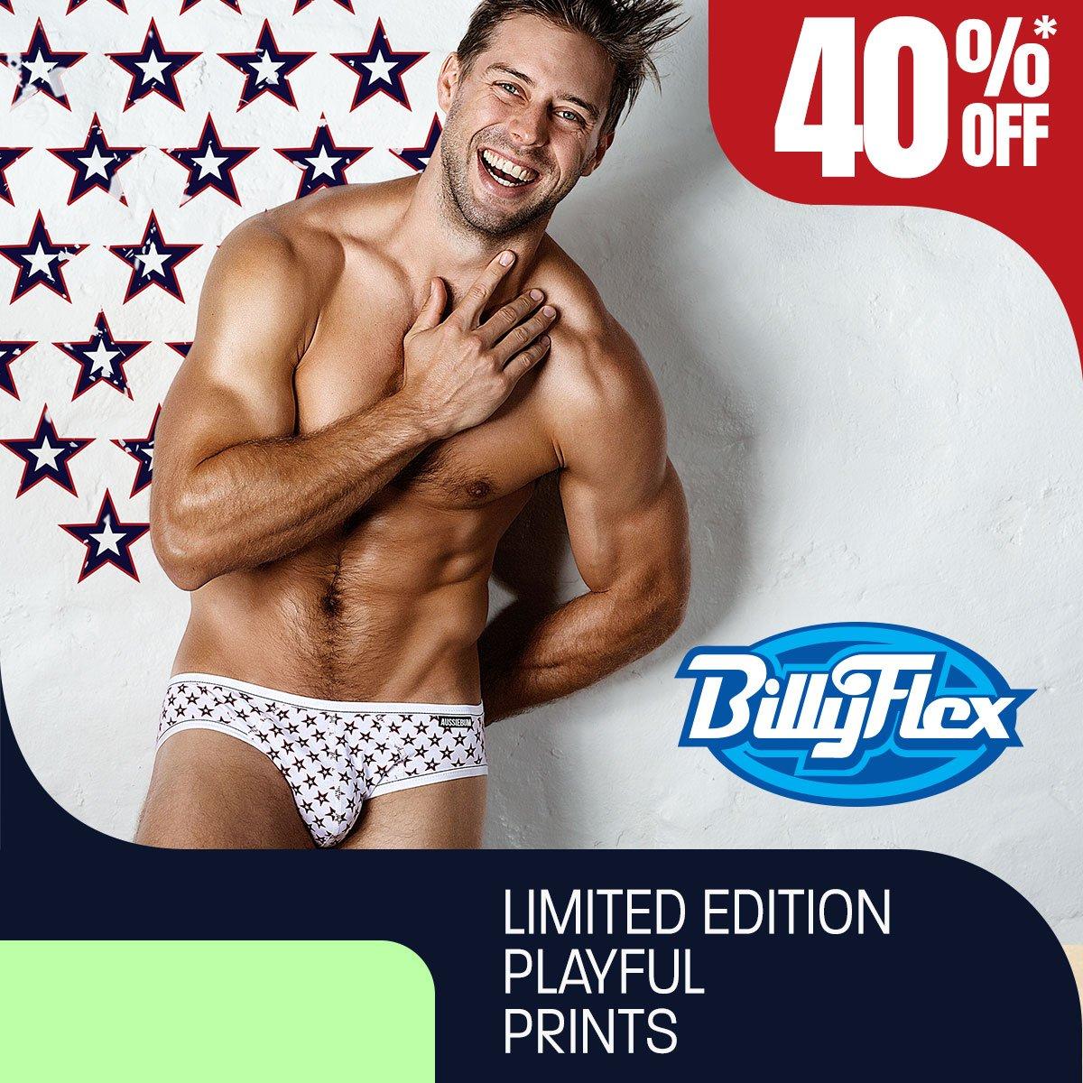 Billy Flex USA Homepage Image