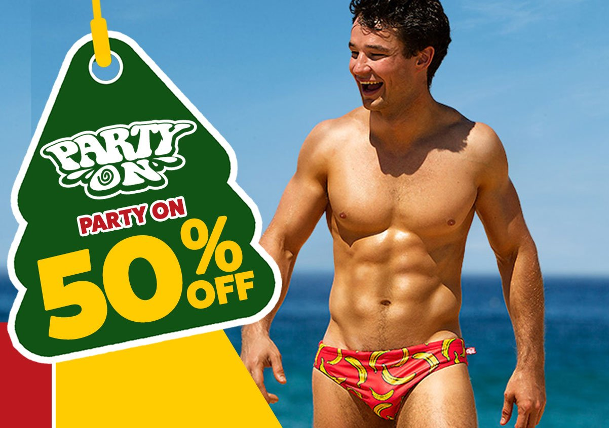 PartyOn Banana Homepage Image